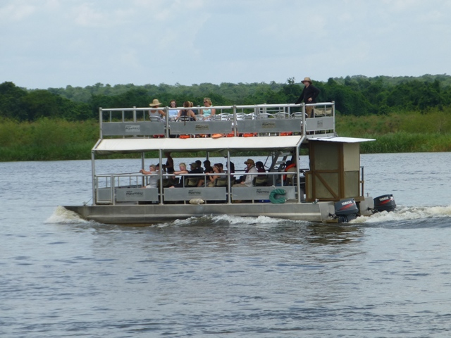 murchison falls boat safari